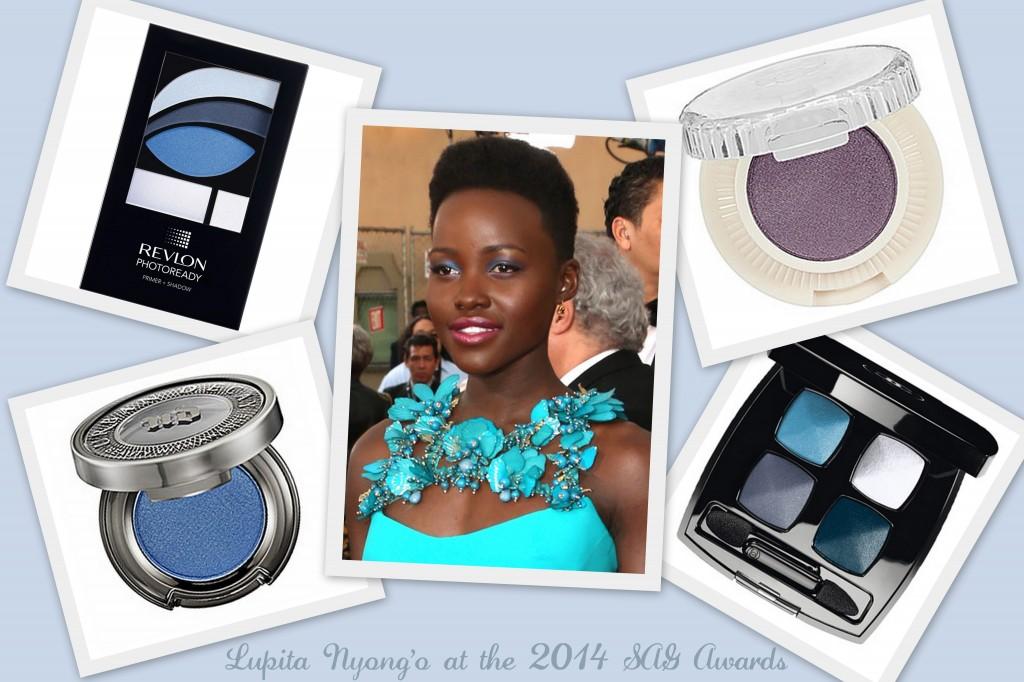 lupita nyong'o, lupita nyong'o sag awards, 12 years a slave, lupita nyong'o makeup, lupita nyong'o beauty, sag awards beauty, sag awards 2014 beauty, lupita nyongo sag awards makeup