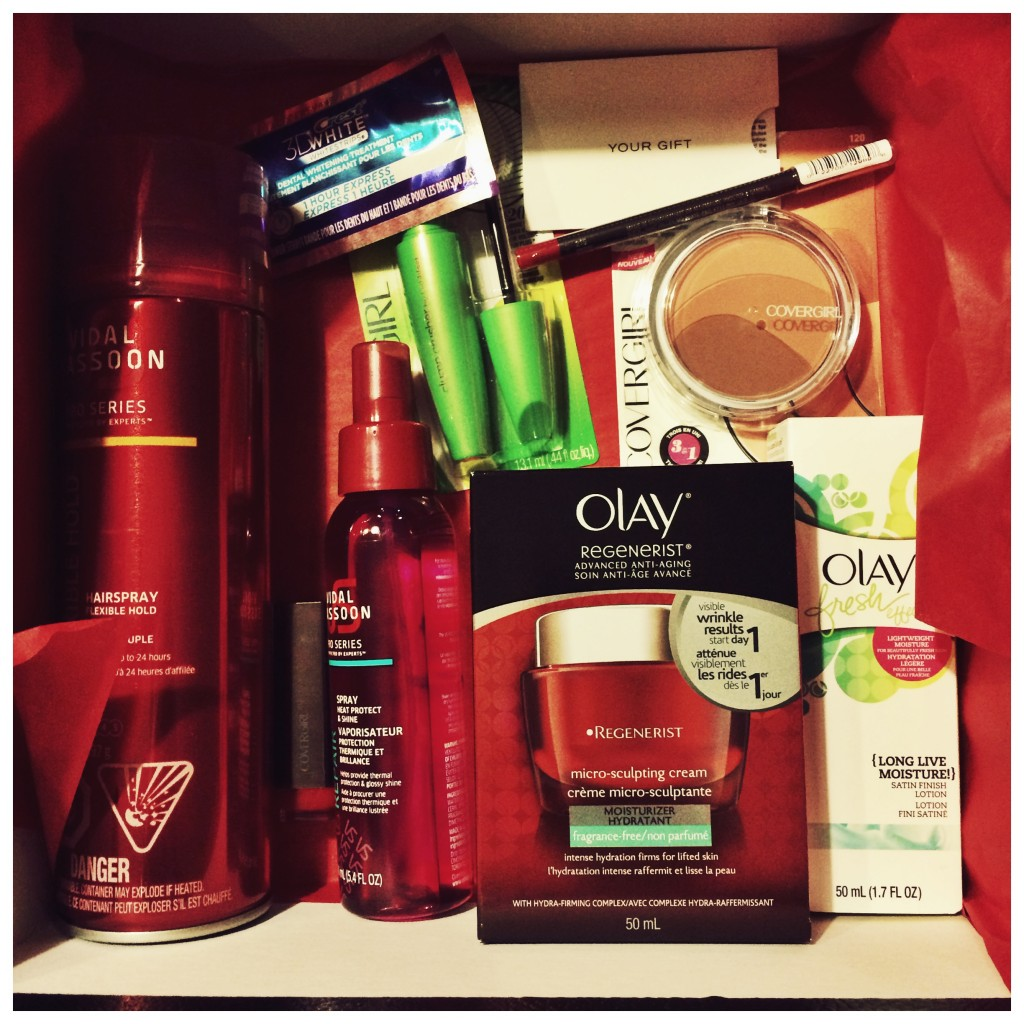 P&G Beauty Red Carpet Glam Beauty Box