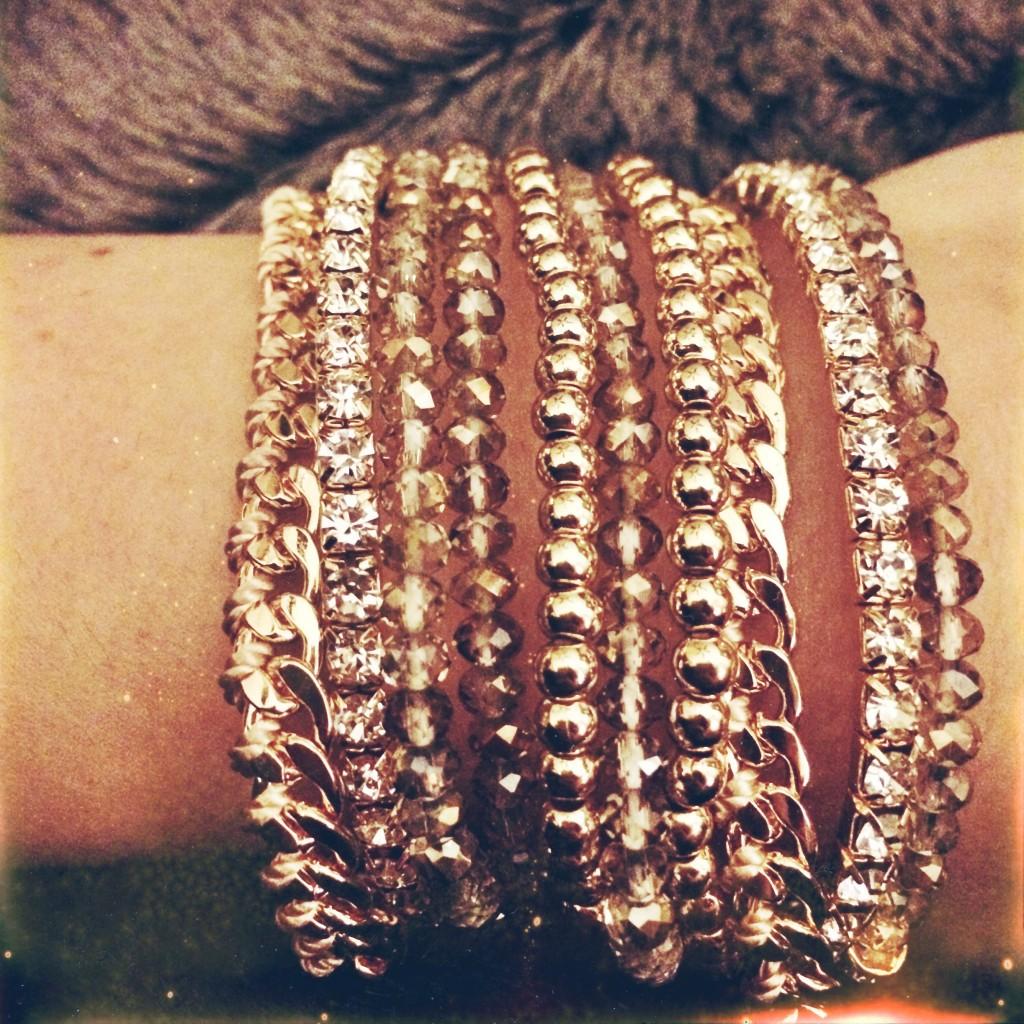 Aldo bracelets, arm candy, jewelry