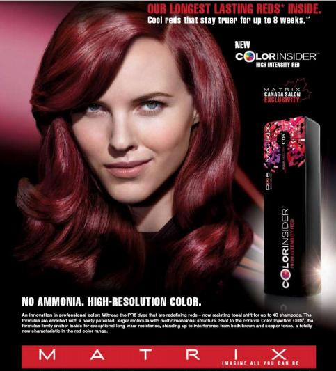 Matrix Hair Color, MAtrix Professional, Matrix High Intensity Red