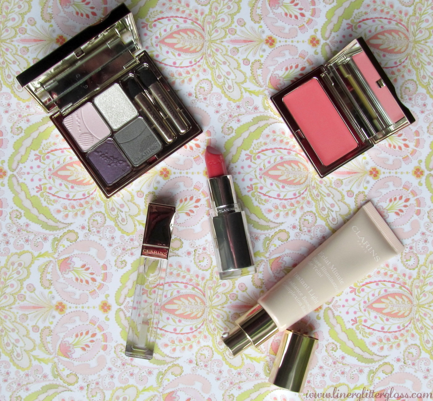 Clarins Opalescence Collection for Spring 2014 (Photos + Swatches)