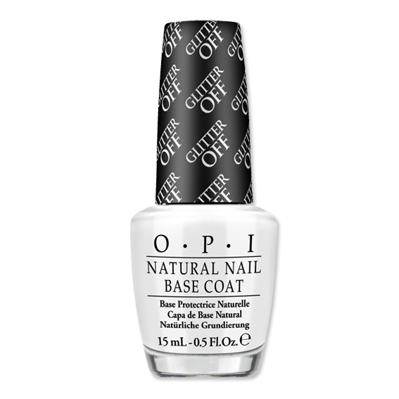 opi glitter off, opi natural nail base coat, remove glitter nail polish, easily remove nail polish