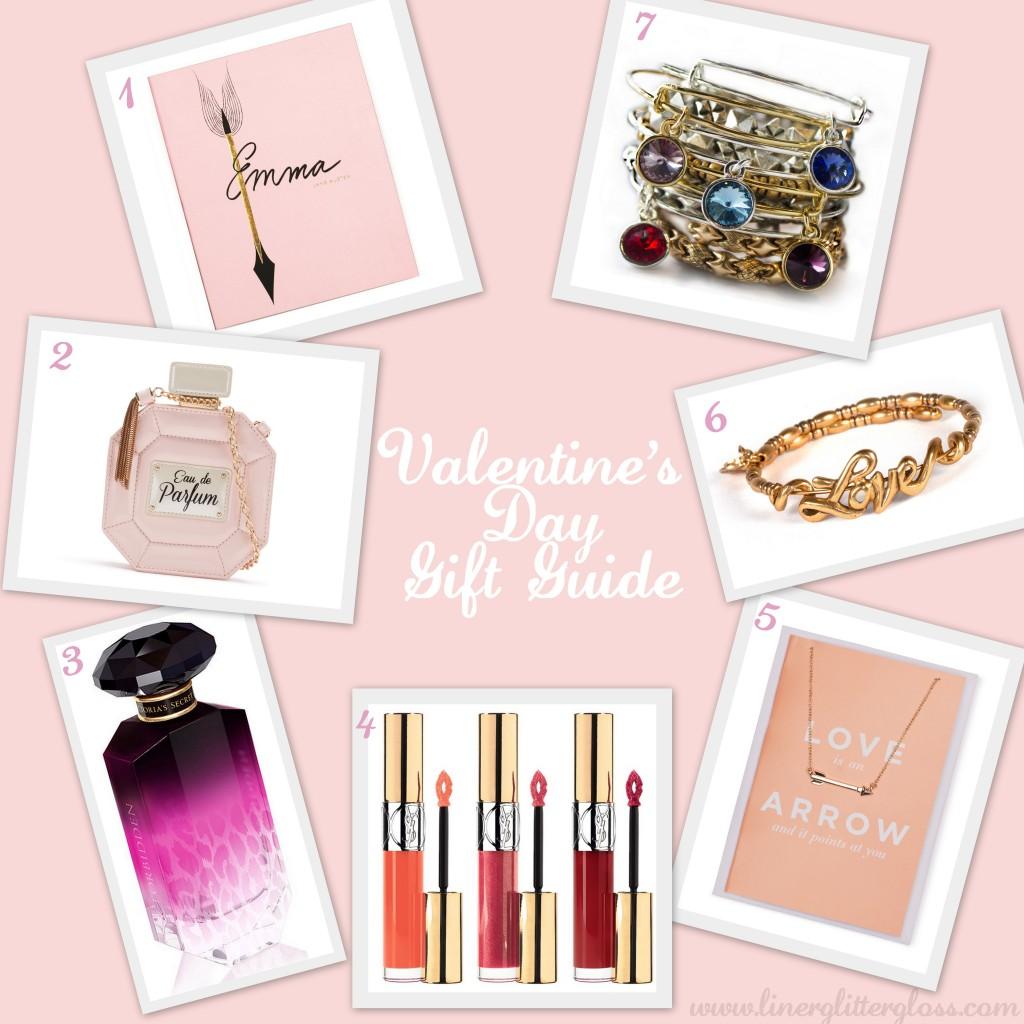 Valentine's Day, Valentine's Day Gift Guide, Victoria's Secret Forbidden, YSL Gloss Volupte, Aldo, Aldo Valentine's Day, Aldo perfume purse, Kate Spade notebook, Kate Spade Emma notebook