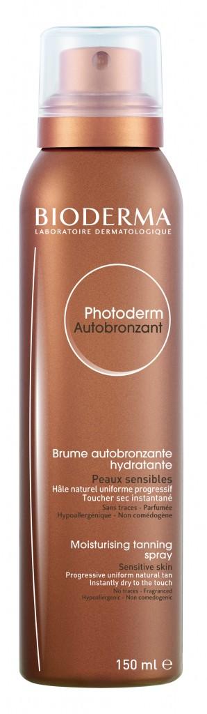Bioderma Photoderm Self Tanning Spray, Bioderma, Bioderma Photoderm, bioderma murale, murale spring 2014