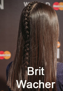brit wacher, brit wacher wmcfw, brit wacher fall 2014, brit wacher hair, fall 2014 braid, center braid, mohawk braid, redken wmcfw, jorge joao wmcfw, redken brit wacher