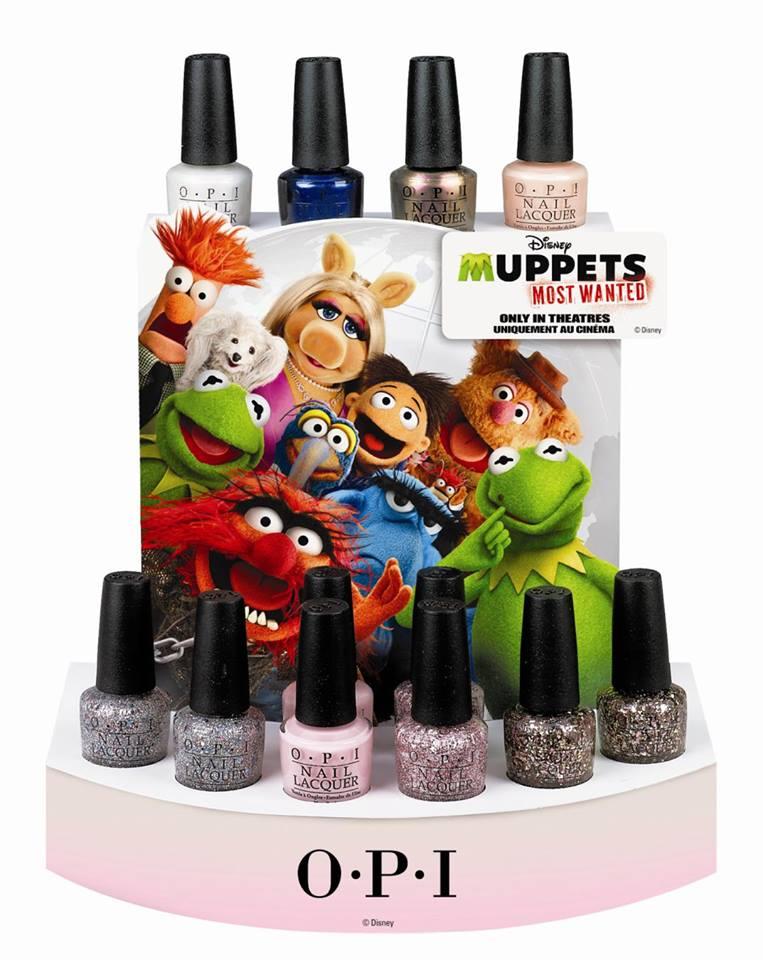 opi, opi muppets, opi muppets 2014, opi muppets most wanted, muppets nail polish
