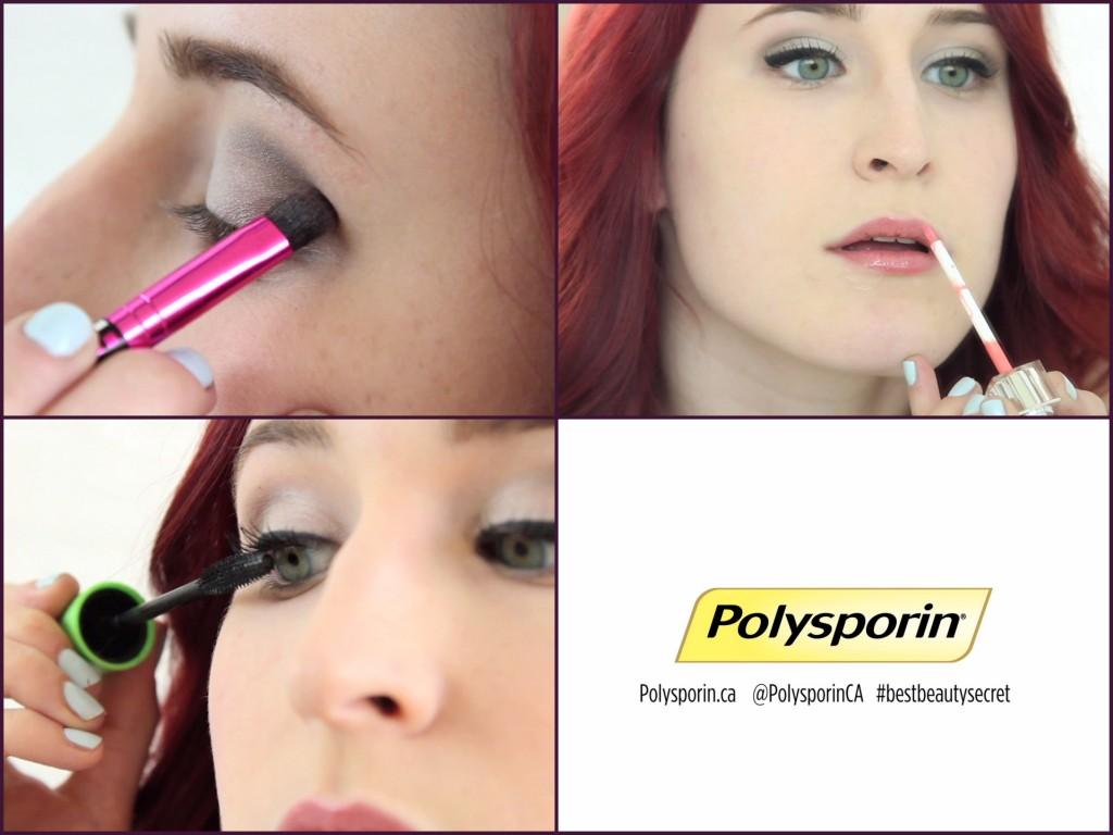 VIDEO: Date Night Makeup with Polysporin
