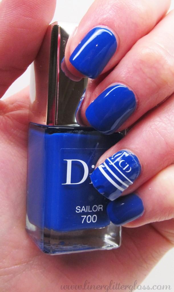 Dior Transat, Dior Manucure Transat, Dior Vernis Sailor, Dior Vernis Sailor Swatch, Dior Transat swatch, dior vernis summer 2014, dior nail polish transat