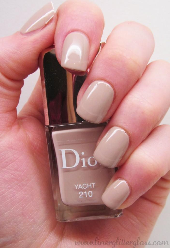 Dior Transat, Dior Manucure Transat, Dior Vernis Yacht, Dior Vernis Yacht Swatch, Dior Transat swatch, dior vernis summer 2014, dior nail polish transat