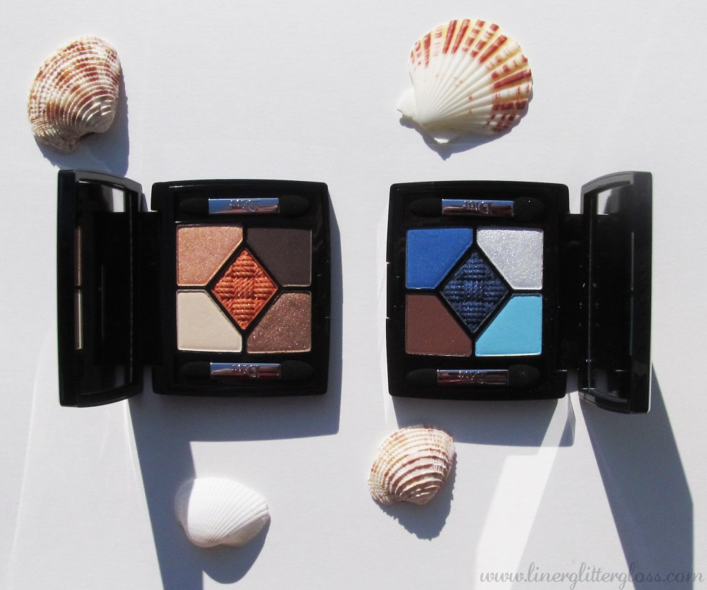 dior transat, dior transat collection, dior summer 2014, summer 2014 beauty, summer 2014 makeup, dior 5 couleurs transat edition, dior 5 couleurs atlantique, dior 5 couleurs sundeck, dior 5 couleurs atlantique swatch, dior 5 couleurs sundeck swatch, dior transat swatch, dior transat eyeshadow