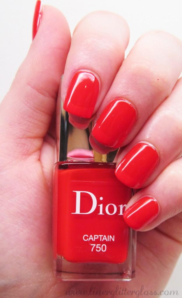 Dior Transat, Dior Manucure Transat, Dior Vernis Captain, Dior Vernis Captain Swatch, Dior Transat swatch, dior vernis summer 2014, dior nail polish transat