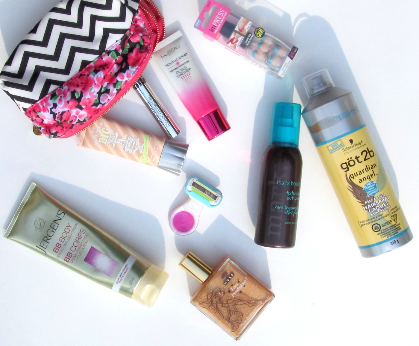 Vacation Diaries: My Travel Beauty Must-Haves