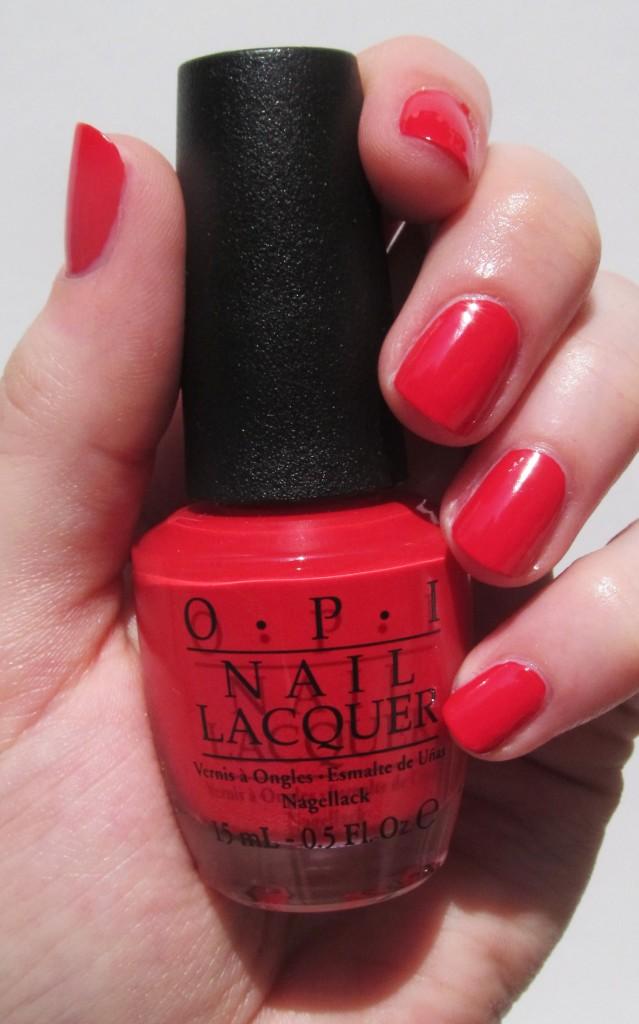 OPI Coca-Cola, OPI Coca-Cola Swatch, OPI Coca-Cola Red, OPI Coca-Cola Red Swatch, OPI Summer 2014