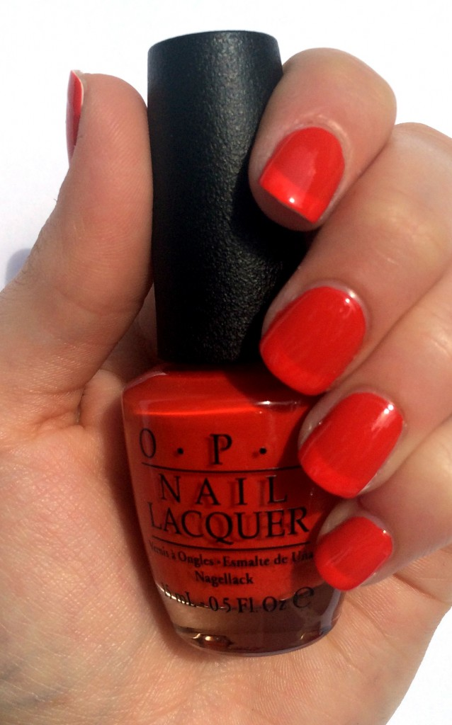 opi race red, opi race red swatch, opi ford mustang, opi ford mustang collection,opi ford mustang collection swatches, opi ford mustang 2014, ford mustang nail polish, ford mustang nail swatches