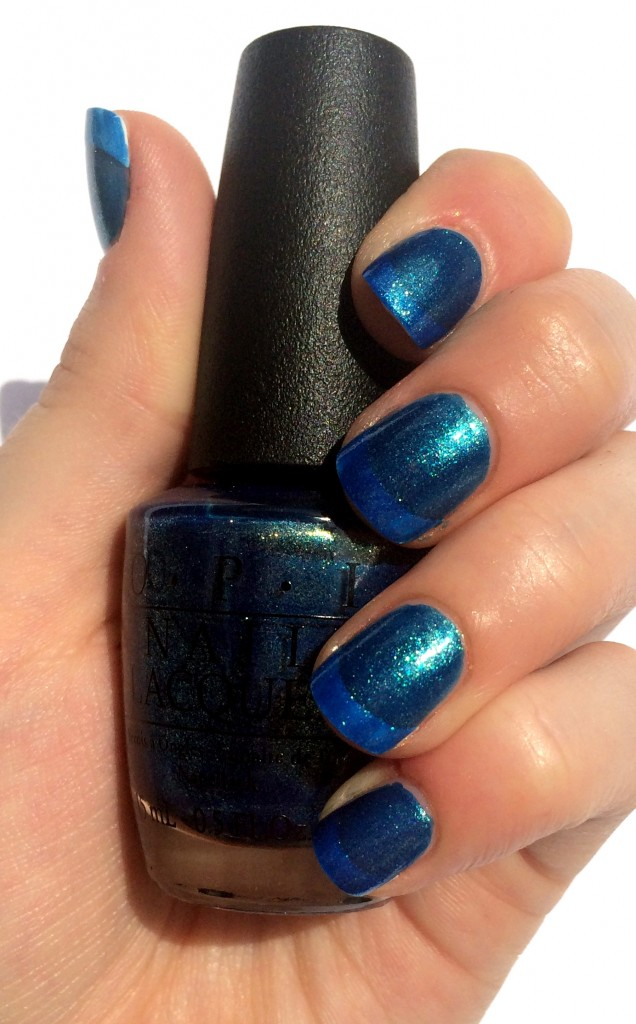 opi the sky's my limit, opi the sky's my limit swatch, opi ford mustang, opi ford mustang collection,opi ford mustang collection swatches, opi ford mustang 2014, ford mustang nail polish, ford mustang nail swatches