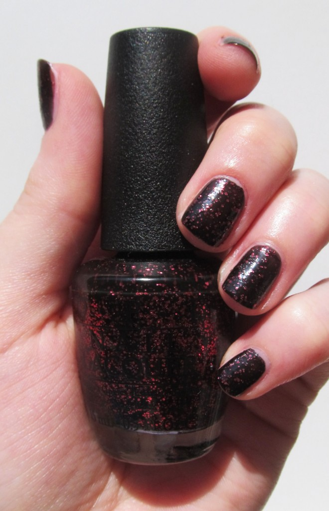 OPI today i accomplished zero, opi coca-cola collection, opi coca-cola, opi coca-cola swatches, opi today i accomplished zero swatch, opi coke zero swatch, opi coke zero, opi coca-cola collection swatch