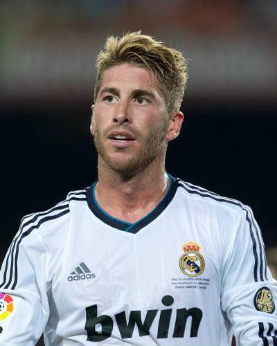 Sergio Ramos hair