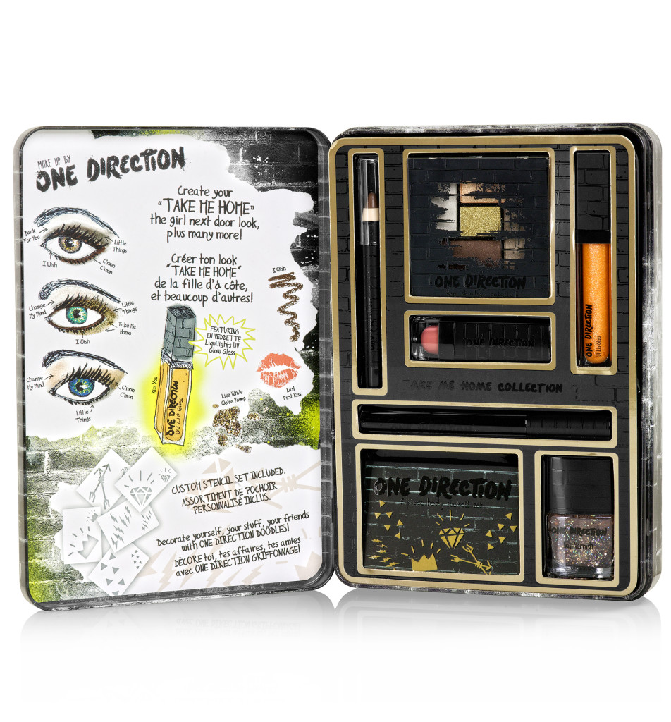 Makeup by One Direction Take Me Home Kit, makeup by one direction, one direction makeup, one direction beauty, one direction makeup kits