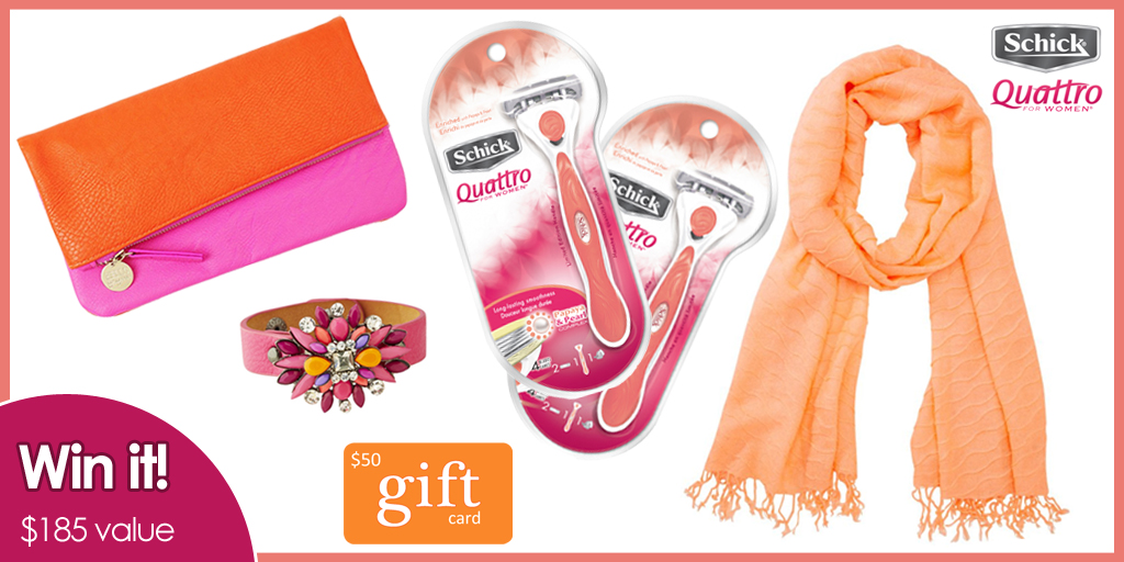Schick Quattro for Women - Giveaway Image