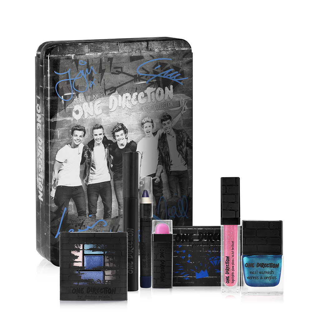 Makeup by One Direction Up All Night Kit, makeup by one direction, one direction makeup, one direction beauty, one direction makeup kits