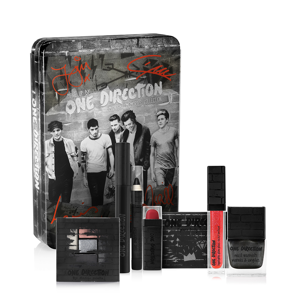 Makeup by One Direction Midnight Memories Kit, makeup by one direction, one direction makeup, one direction beauty, one direction makeup kits