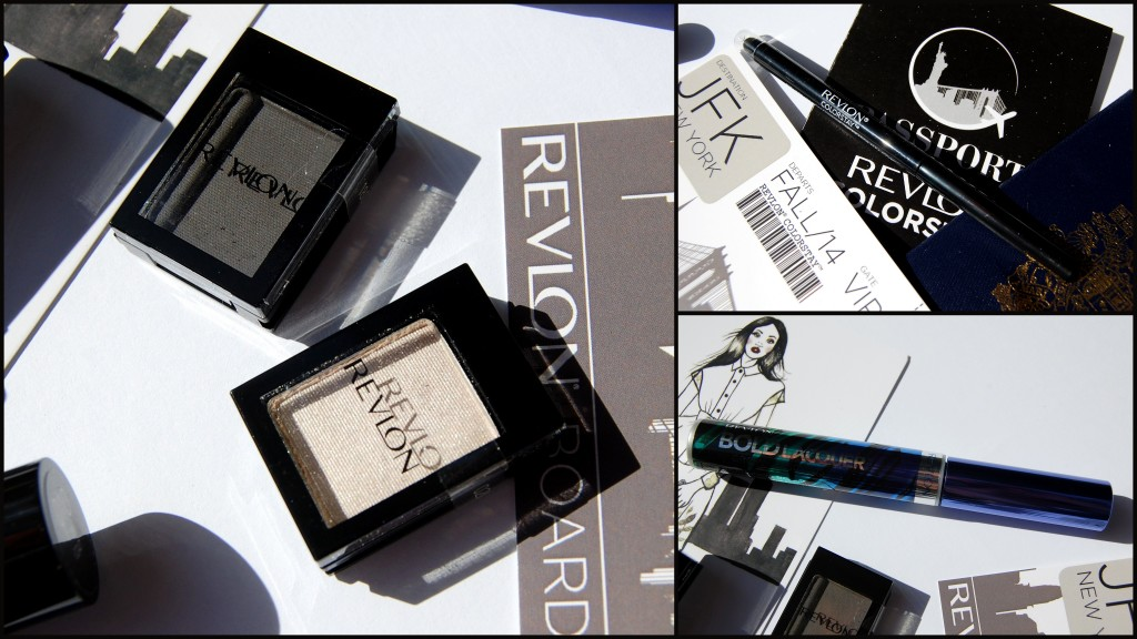 passport to revlon colorstay, new york knockout, new york makeup, new york makeup look, new york makeup tutorial, revlon new york, revlon new york makeup, reclon colorstay shadowlinks, revlon colorstay shadowlinks oyster, revlon colorstay shadowlinks charcoal, revlon colorstay eyeliner, revlon bold lacquer mascara, revlon fall 2014, beauty blog, canadian beauty blog, canadian beauty blogger