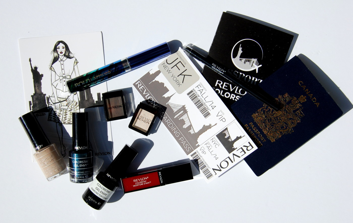 Jet Set Into Fall with Revlon ColorStay | My New York Knockout Look (+Giveaway!)