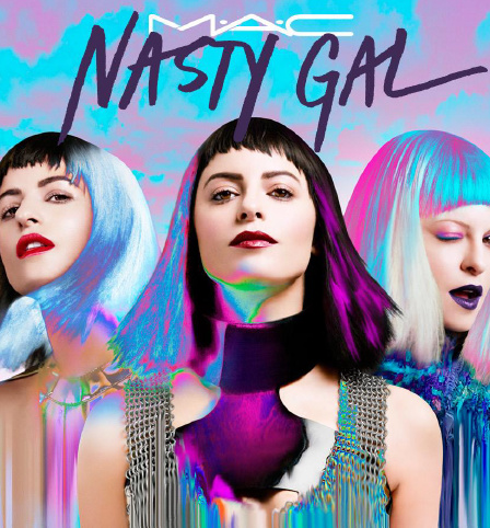MAC, mac cosmetics, mac nasty gal, mac nasty gal collection, nasty gal lipstick, nasty gal nail polish, mac sophia amoruso, sophia amoruso makeup, nasty gal makeup, nasty gal makeup collection