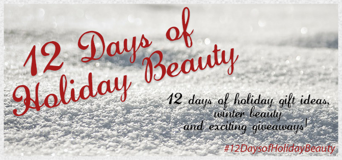 12 days of holiday beauty, holiday beauty 2014, beauty gift guide 2014, linerglittergloss, canadian beauty blog, beauty blog, canada, canada contest