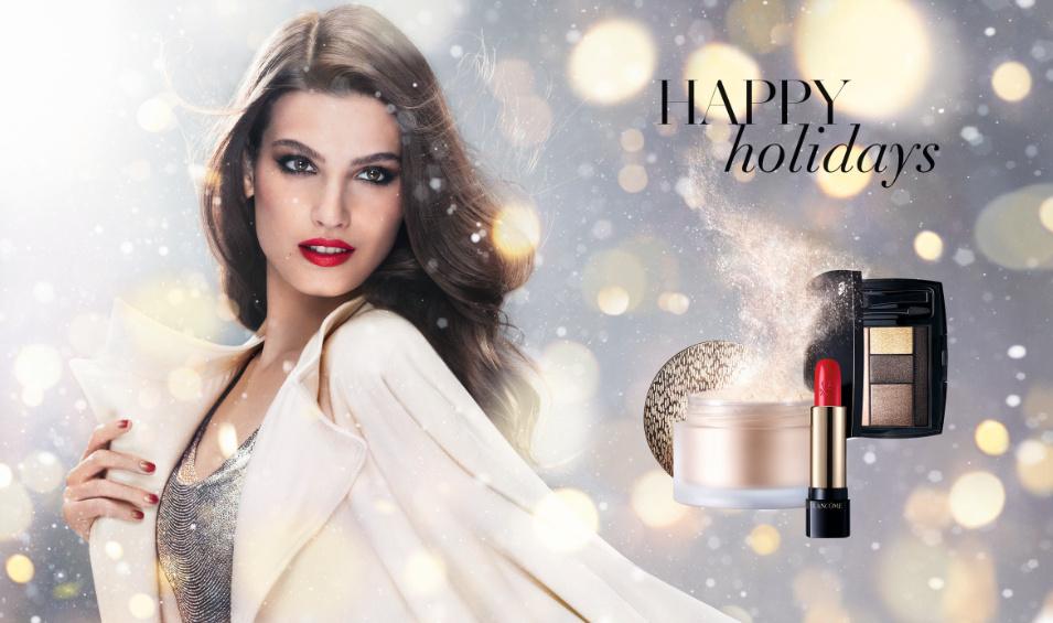 lancome holiday, lancome holiday 2014, lancome gold, lancome beauty