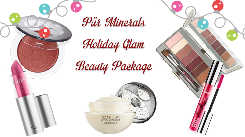 Pür Minerals Soak it up  Intense Hydrating Moisturizer, pur minerals Mineral Blush cheek, pur minerals Big Look Mascara, Pur minerals Soul Mattes,  pur minerals Château de Vine Lipstick, pur minerals makeup, pur minerals beauty, 12 days of holiday beauty, 12 days makeup giveaway, holiday beauty, pur minerals, makeup, canadian beauty blog