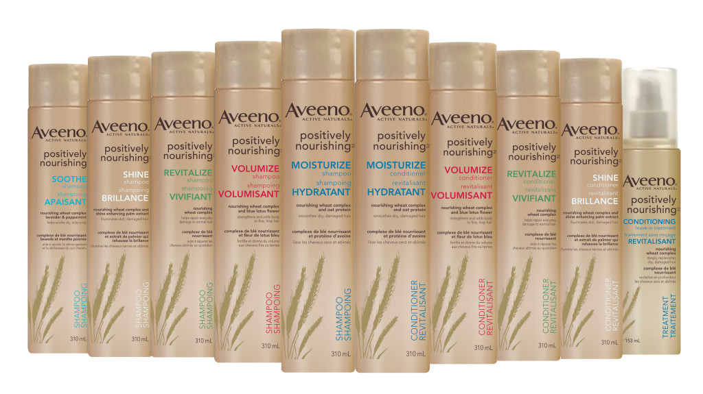 Review | Aveeno Positively Nourishing Hair Care Collection