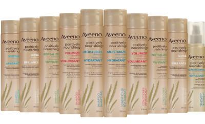 aveeno poisitively nourishing, AVEENO ACTIVE NATURALS POSITIVELY NOURISHING Moisturize, aveeno active naturals, aveeno hair care, aveeno shampoo, aveeno conditioner