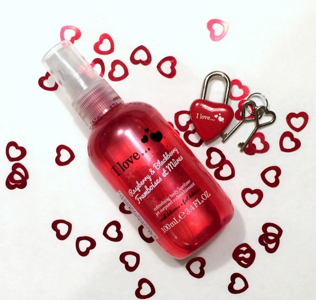 i love..., i love cosmetics, i love... blackberry & strawberry, i love... body spray, i love... body lotion