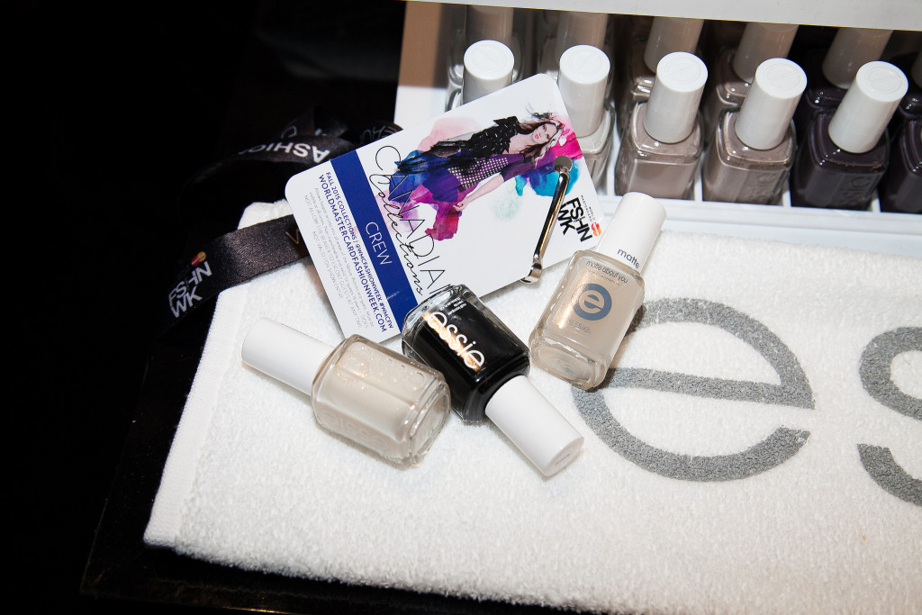 essie, essie aruba, essie licorice, essie matte about you, essie fashion week, essie wmcfw fw 15, wmcfw fw 15, fall 2015 nails, essie pink tartan, pink tartan nails, best of world mastercard fashion week 2015, wmcfw fall 2015, pink tartan essie nail polish, essie manicure, essie fall 2015, essie love, pink tartan fw 2015, pink tartan fashion week