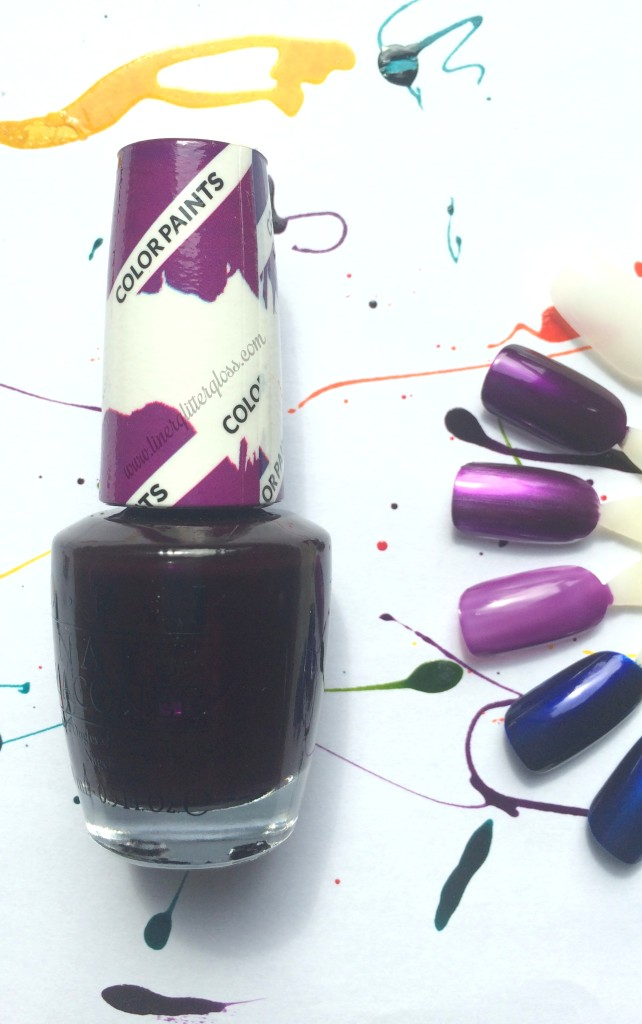 OPI color paint, opi color paints, opi colorpaint, opi color paints, opi color paints review, opi color paints swatches, opi polish for nail art, opi sheer polish, opi sheer nail lacquer, opi nail art, what polish to use for nail art, opi summer 2015, opi spring 2015, opi summer 2015 swatches, opi color paint purple perspective, opi colorpaint purple perspective, opi color paint purple perspective swatch, opi purple perspective swatch