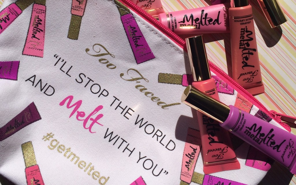 Get Melted | Too Faced Melted Metal Liquid Lipstick Review + Swatches