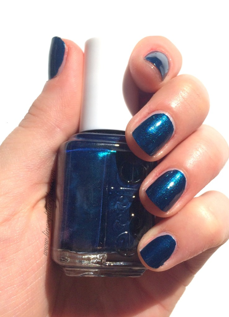 Essie, Essie Fall 2015, Essie Fall nail polish, rock n roll nail polish, essie fall 2015 swatches, essie bell bottom blues, essie bell bottom blues swatch, indigo nail polish, mermaid nail polish, bell bottom blues nail polish