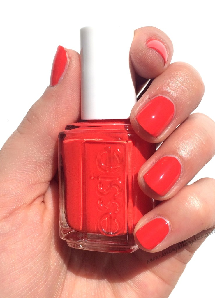 Essie, Essie Fall 2015, Essie Fall nail polish, rock n roll nail polish, essie fall 2015 swatches, essie color binge, color binge nail polish, orange red nail polish, essie color binge swatch