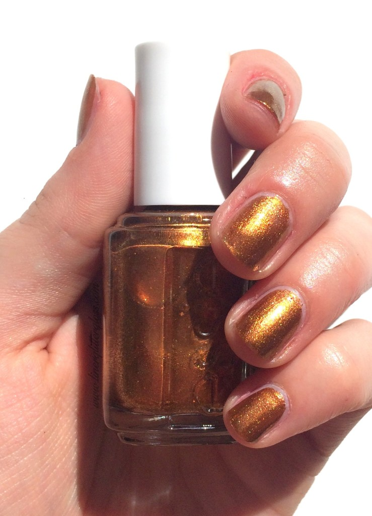 Essie, Essie Fall 2015, Essie Fall nail polish, rock n roll nail polish, essie fall 2015 swatches, essie leggy legend, essie leggy legend swatch, leggy legend nail polish, copper nail polish, bronze nail polish