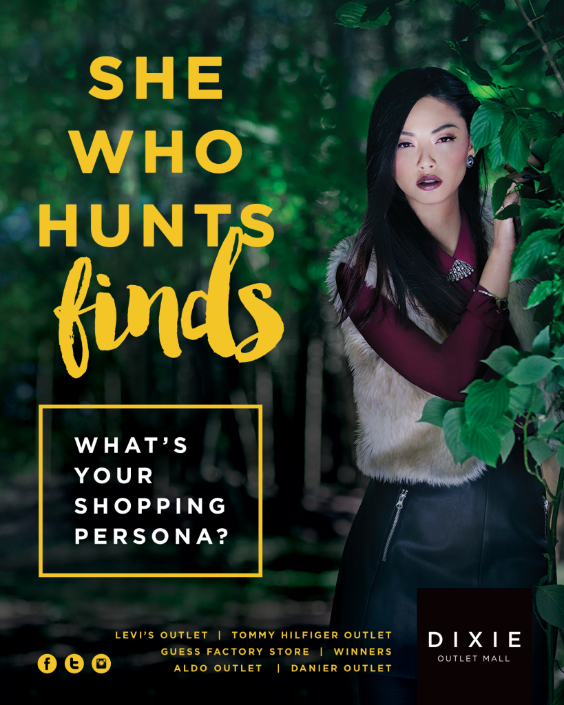 dixie outlet mall, shopping challenge, she who hunts finds, whats your wild side, dixie outlet mall giveaway, best shopping deals gta, ontario shopping, outlet shopping ontario, biggest outlet shopping mall, where to find good deals in ontario, dixie shopping mall gift card