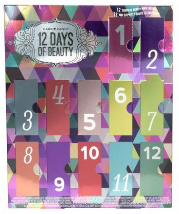 hard candy beauty, hard candy holiday 2015, hard candy advent calendar, , beauty advent calendar, fun advent calendar, holiday beauty, holiday makeup, holiday 2015, christmas present for beauty lover, christmas present for your girlfriend