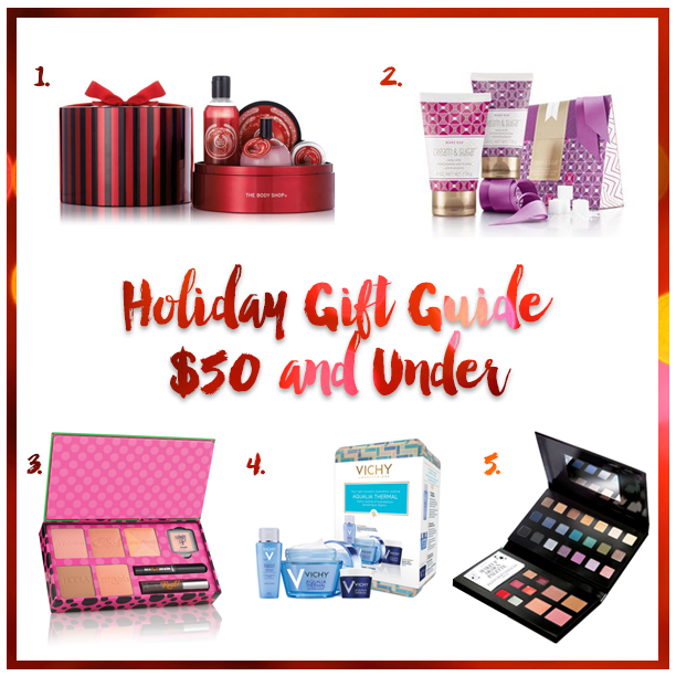 beauty gift guide, christmas presents for girls, what to buy my girlfriend for christmas, beauty christmas presents, christmas 2015 gift guide, the body shop frosted cranberry, the body shop frosted cranberry gift set, mary kay cream & sugar set, mary kay holiday set, benefit cosmetics real cheeky party, benefit cosmetics holiday 2015, benefit cosmetics blush set, vichy aqualia gift set, avon designer palette, avon eyeshadow palette