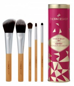 thefaceshop, thefaceshop skincare, thefaceshop holiday 2015, thefaceshop brush set, korean skincare, korean skincare toronto, where to find korean skincare in canada, thefaceshop in toronto, toronto beauty shop, toronto beauty store