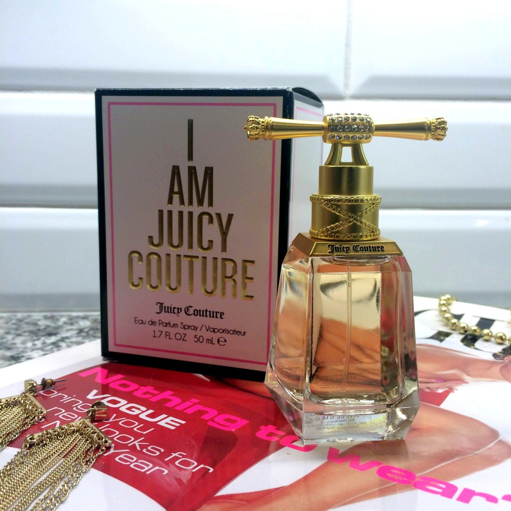 i am juicy couture, i am juicy couture eau de parfum, juicy couture perfume, juicy couture fragrance, new juicy couture perfume, sweet perfume, fruity perfume, what perfume should i get, new perfume fall 2015, what is a good perfume for a girl, juicy couture beauty