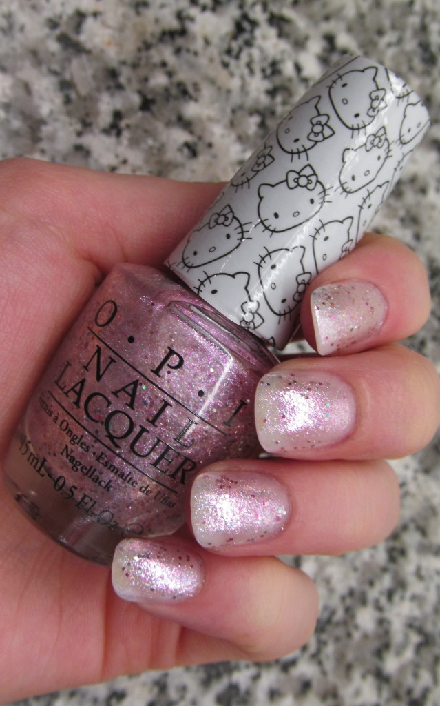 opi helly kitty, opi hello kitty collection, hello kitty nail polish, opi hello kitty review, opi hello kitty swatches, hello kitty swatches, opi charmmy & sugar, opi charmmy & sugar swatch, charmmy & sugar nail polish, unicorn nail polish
