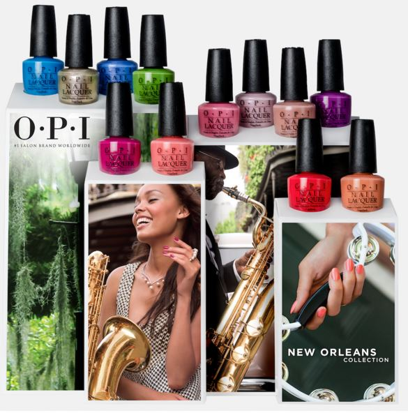 opi, opi 2016, opi new orleans, opi new orleans collection, opi nola, new orleans nail polish, new opi nail polish, new nail polish 2016, nail polish trend 2016, best new nail polish, beauyt trends spring 2016, Spare Me a French Quarter?, She's a Bad Muffuletta!, Got Myself into a Jam-balaya, Crawfishin' for a Compliment, Take a Right on Bourbon, Rich Girls & Po-Boys, I'm Sooo Swamped!, Show Us Your Tips!, Let Me Bayou a Drink, Humidi-Tea, Suzi Nails New Orleans, I Manicure for Beads