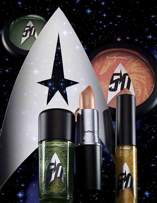 MAC Star Trek, #MACStarTrek, Star Trek Makeup, MAC fall 2016, mac makeup, new mac makeup, star trek beauty, star trek makeup collection, fall 2016 beauty, fall 2016 makeup