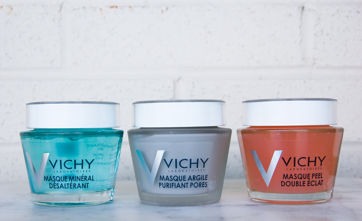 multi-masking, how to use face masks, using multiple masks on your face, how to use more than one fack mask, best face mask for my skin type, vichy face mask, vichy quenching mineral mask, vichy pore-purifying mask, vichy double-peeling mask, best face mask to use, combination skincare
