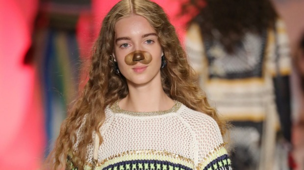 Snapchat Filters Rule the Runway at Desigual's NYFW Show